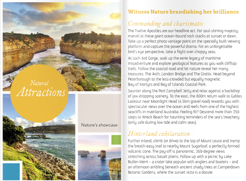 professional copywriter Geelong, copywriting melbourne, tourism writer, great ocean road