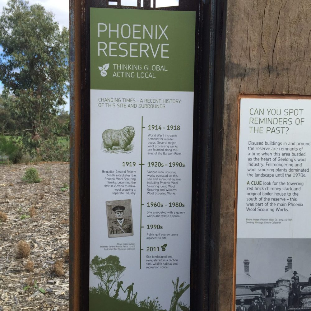 interpretive signage geelong, interpretive writing geelong, interpretation geelong, copywriting geelong, copywriter, phoenix reserve geelong