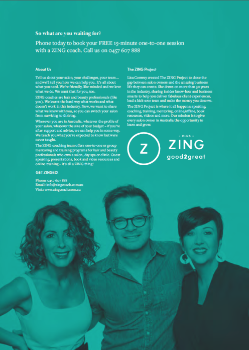 ZING Project brochure